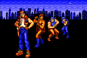 Contra Force Characters Credits