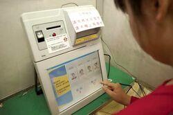 Voting in Manchuria