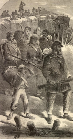Kanian forces during American Civil War