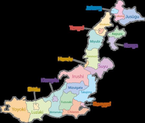 Surea map alternate