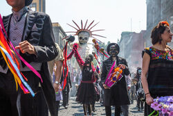 Dia de Muertos in Brazoria