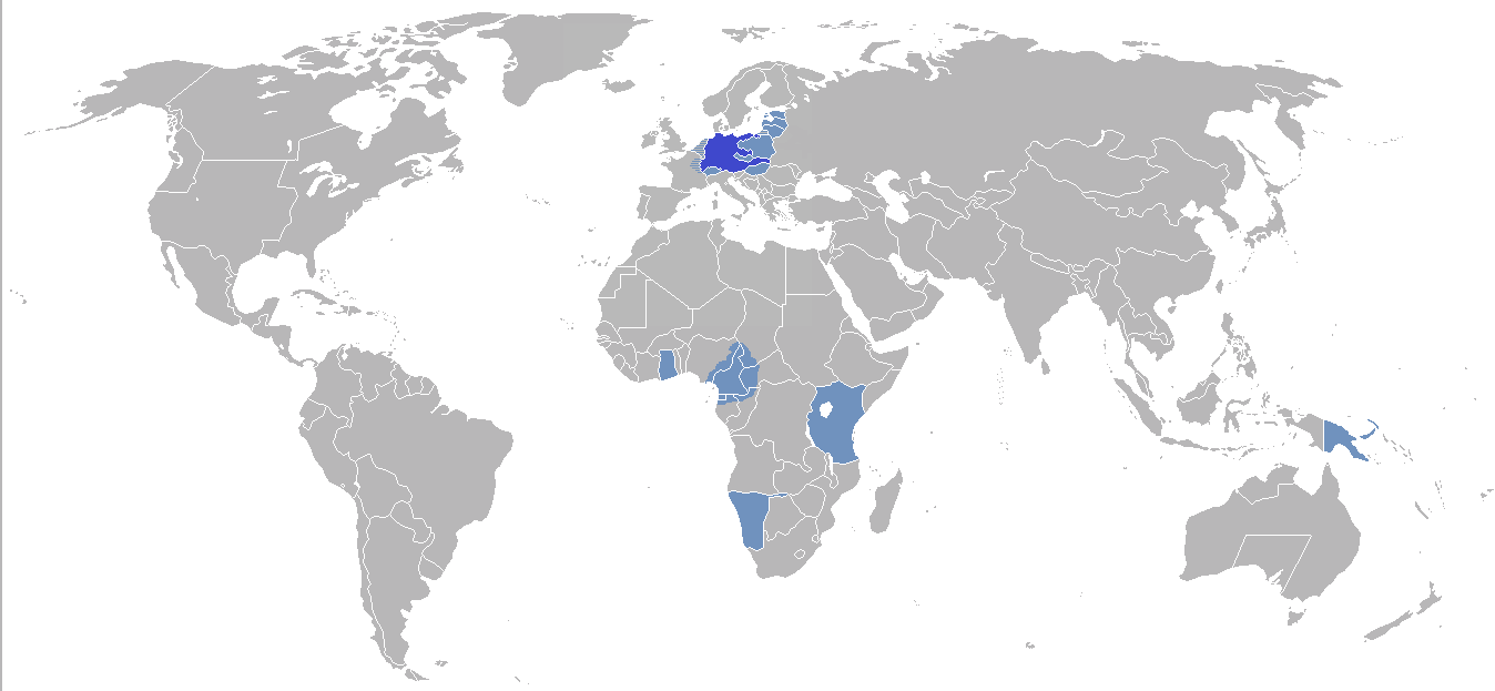 German Empire German Empire With Colonial