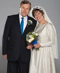 Roy and hayley second wedding