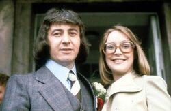 Ray deirdre wedding 1975