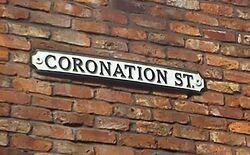 Coronation street sign