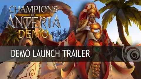 Champions of Anteria Demo Trailer ES