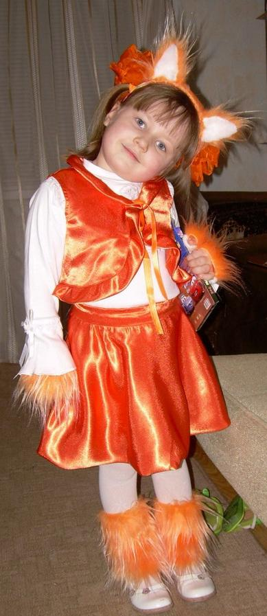 Карнавальные костюмы лисы своими руками