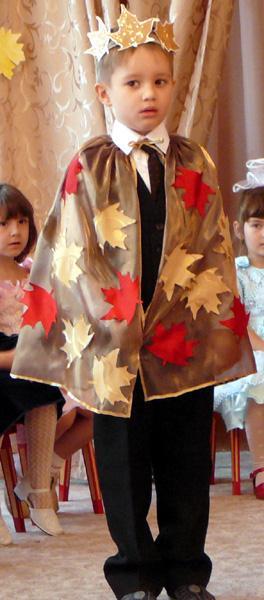 Как сделать осенний костюм для мальчика своими руками фото быстро и красиво