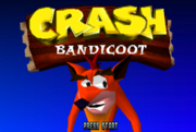 Crash 1 E3 Title Screen