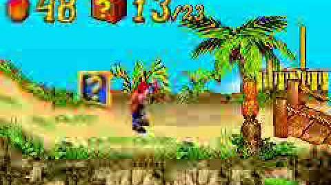 Crash Bandicoot N-Tranced - Part 1 Island Intro