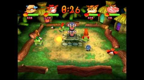 Jungle Fox - Gem - Crash Bash - 200% Playthrough (Part 62)