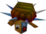 Spiked Cyborg Turtle Crash Bandicoot 2 Cortex Strikes Back