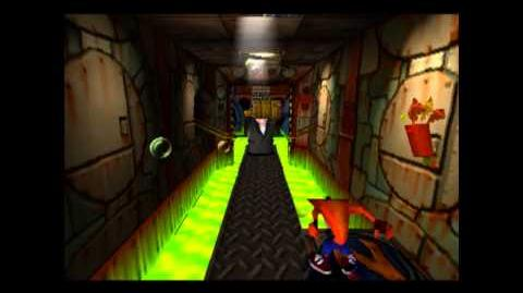 Toxic Waste - Blue Gem - Crash Bandicoot - 100% Playthrough (Part 16)