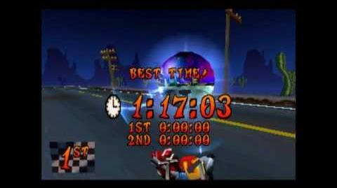 Road Crash - Platinum Relic - Crash Bandicoot 3 Warped - 105% Playthrough (Part 43)