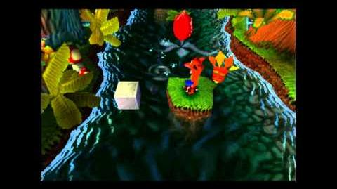 Up The Creek - Clear Gem - Crash Bandicoot - 100% Playthrough (Part 5)