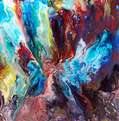 Fluid painting 46 by mark chadwick-d3e14st