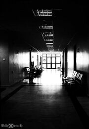 Hospital empty corridor by billywrath-d2xlqsu