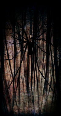 The Slender Man by Pirate Cashoo
