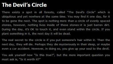 Devils Circle