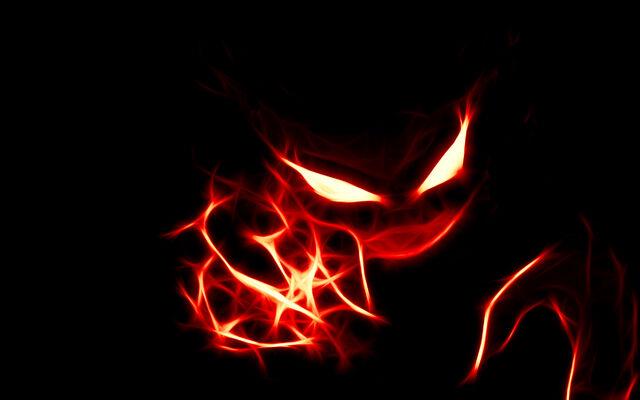 File:Red Ghost Pokemon Wallpaper.jpg