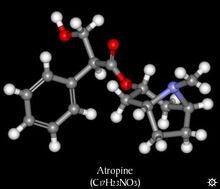 Atropine 3d