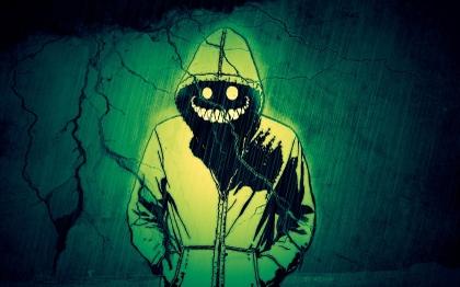 File:Fantasy art smiling grin demon hoody 1680x1050 wallpaper www.miscellaneoushi.com 37.jpg