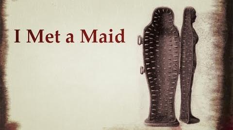 """""""I Met a Maid"""" Creepy Poem-0"""