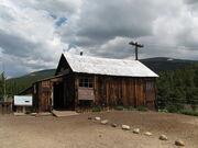 Bonair mine cabin