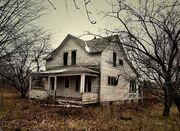 Creepy farmhouse