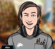 Alex - Winking