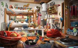 3. Troy's Dorm Room