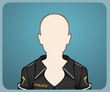 Black Police Outfit