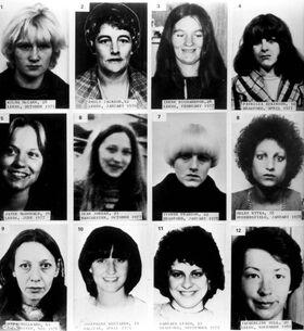 Sutcliffe's victims