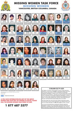Missing women in Vancouver