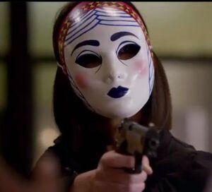 Izzy Rogers mask