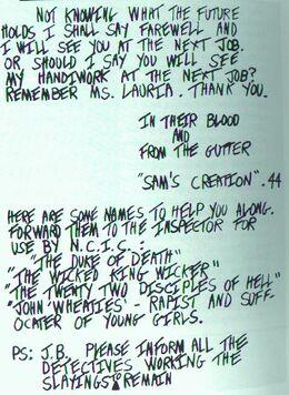 Berkowitz's letter