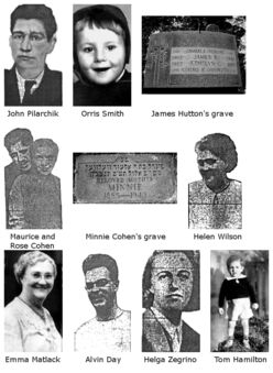 Unruh's victims