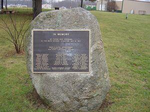Bath School memorial