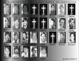 Dean Corll victims