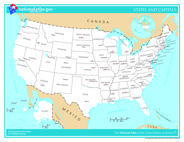 File:US map - states and capitals.png