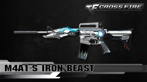 CrossFire Indonesia M4A1-S Iron Beast ☆