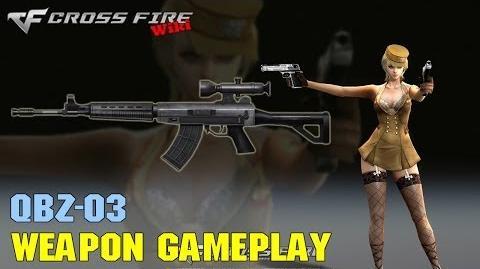 CrossFire - QBZ-03 - Weapon Gameplay