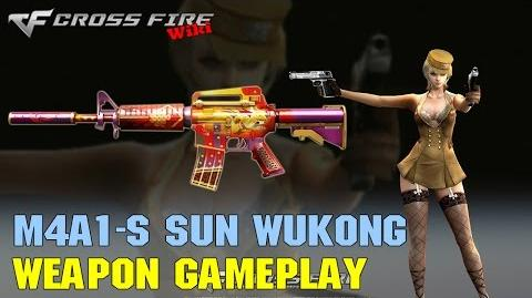 CrossFire - M4A1-S Sun WuKong - Weapon Gameplay