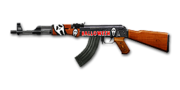 RIFLE AK-47-Halloween 1