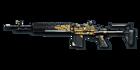 M14 EBR Golden Dragon