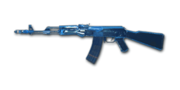 RIFLE AK-47-Blue Crystal
