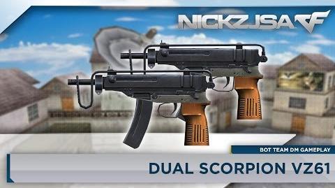 Dual Scorpion VZ61 CROSSFIRE Japan 2
