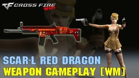 CrossFire - SCAR-Light Red Dragon - Weapon Gameplay