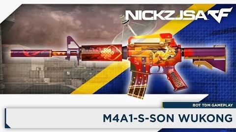 M4A1-S-Son Wukong CROSSFIRE China 2