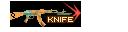 SHOT WEAPON AK47 A QQBrowser KNIFE